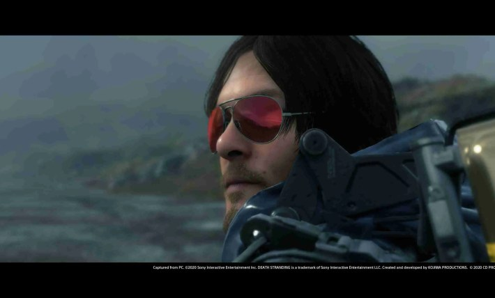 Death Stranding and Cyberpunk 2077