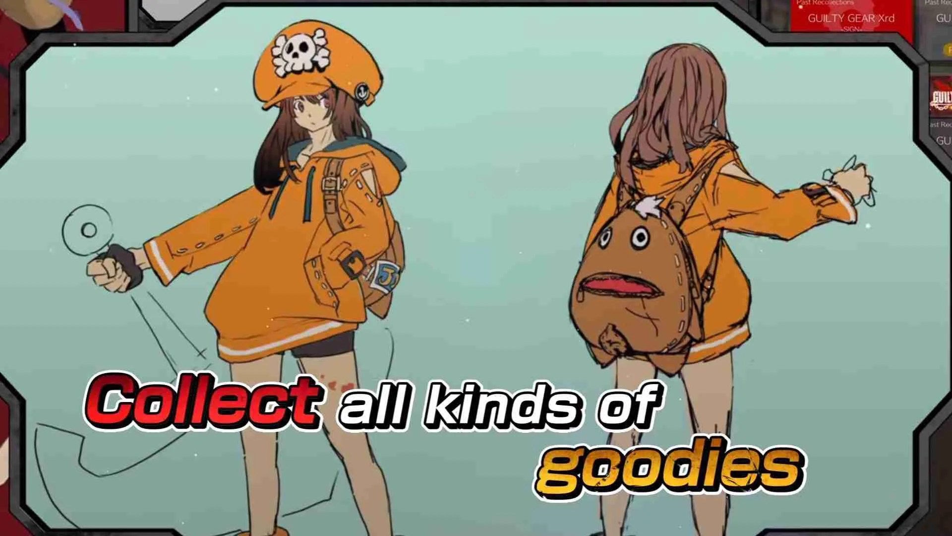 picture of may orange sweater guilty gear
