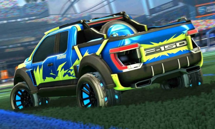 Rocket League & Ford Collaboration