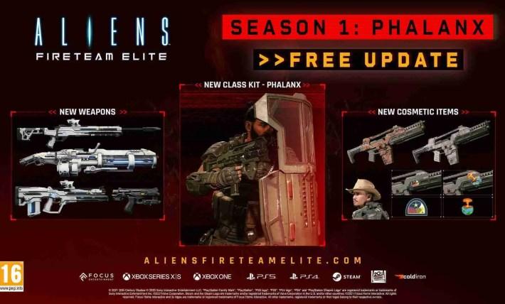 Aliens: Fireteam Elite Season 1