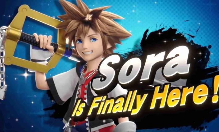Sora is Joining Smash!