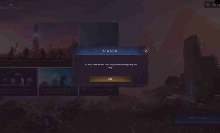 Queue Times In New World
