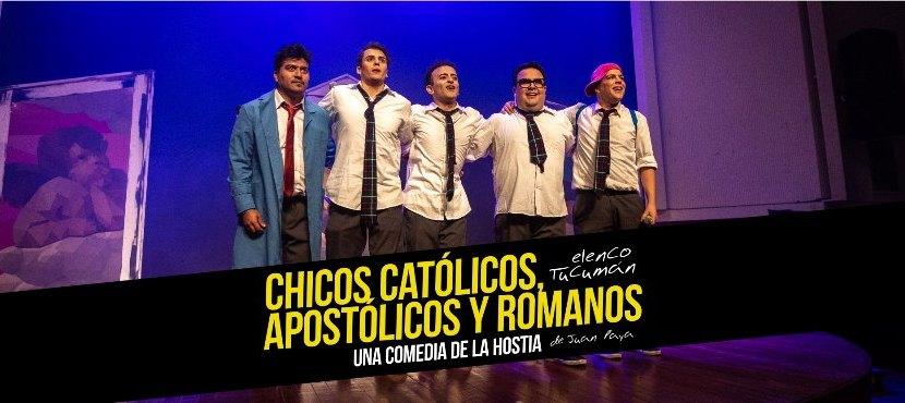 """""""Chicos Católicos"""" se presenta en el  Virla"""