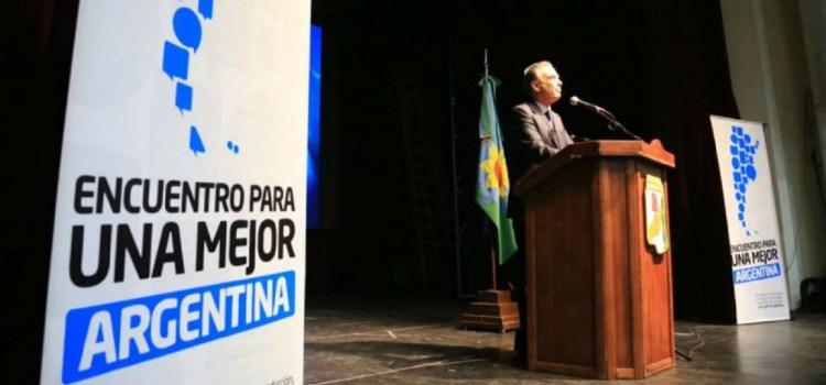 Pichetto lanzó su candidatura a Presidente