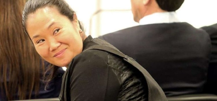 Perú : Liberaron a Keiko Fujimori