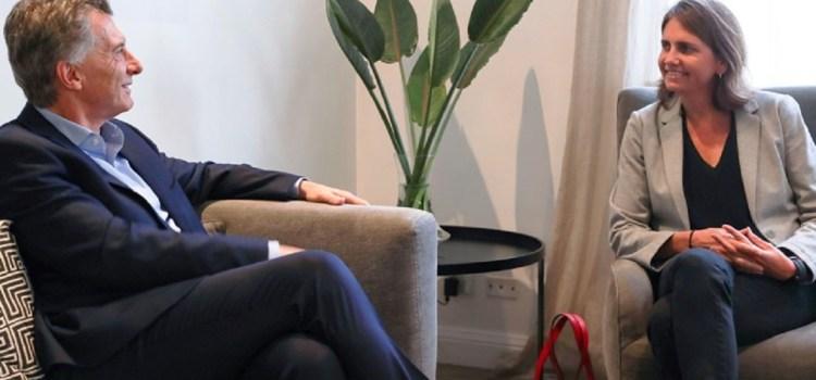 Mauricio Macri recibió a la bióloga del CONICET