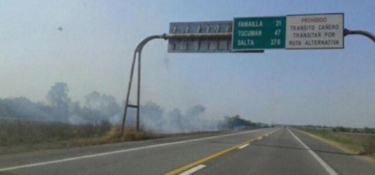 Macri promete que convertirá a la ruta 38 en una autopista