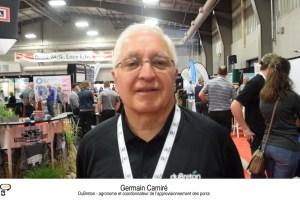 Germain Camiré, DuBreton - agronome et coordonnateur de l'approvisionnement des porcs