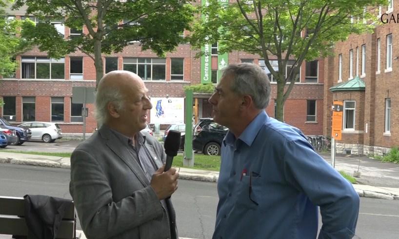 Simon Bégin & Marcel Groleau