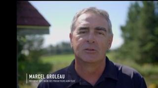 Marcel Groleau, présient de l'UPA