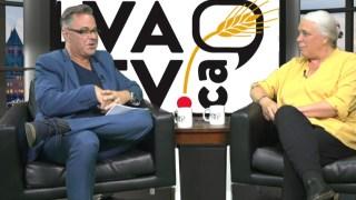 Yannick Patelli & Manon Massé sur le plateau de LVATV.CA