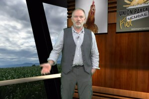 Maxime Laplante, président de l'Union paysanne