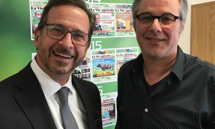 Yvea-François Blanchet et Yannick Patelli