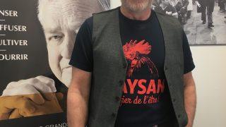 """Maxime Laplante, président de l""""Union paysanne"""