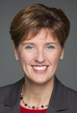 L'honorable Marie-Claude Bibeau
