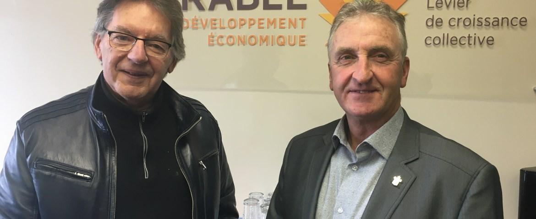 Michel Saint-Pierre et Sylvain labrecque