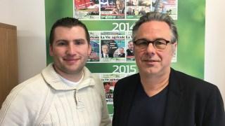 Baptiste Gatouillat et Yannick Patelli