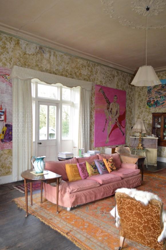 Shankill Castle Drawing Room © lvbmag.com Stuart Blakley