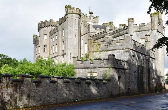 Markree Castle from Stables © Lavender's Blue Stuart Blakley