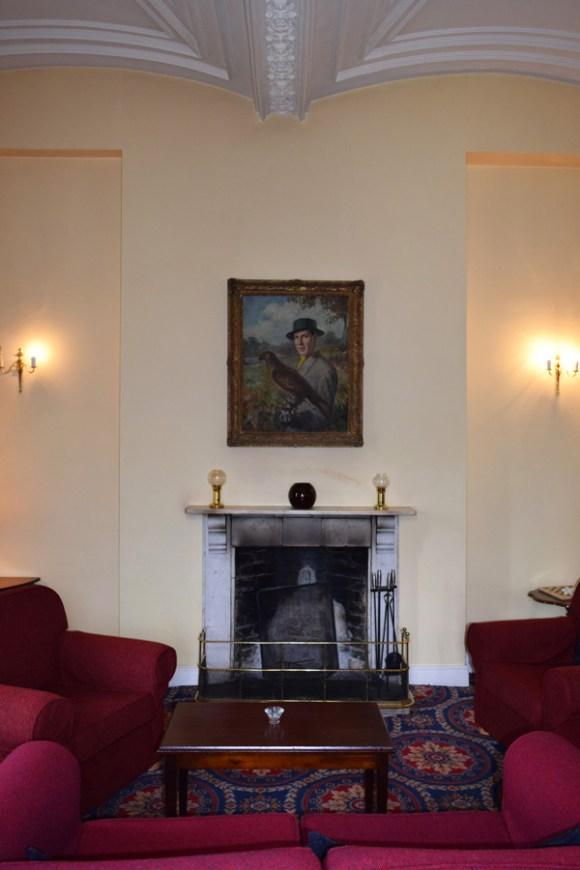 Markree Castle Sitting Room Fireplace © Lavender's Blue Stuart Blakley