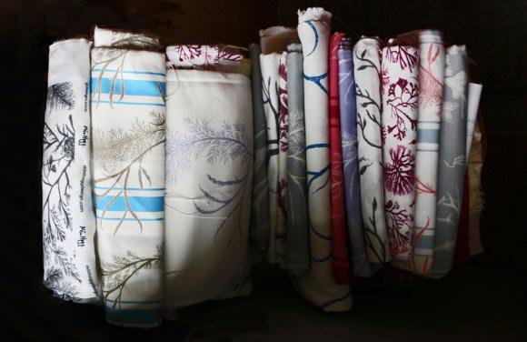 Min Hogg The World of Interiors Founder Seaweed Collection Fabrics © Lavender's Blue Stuart Blakley