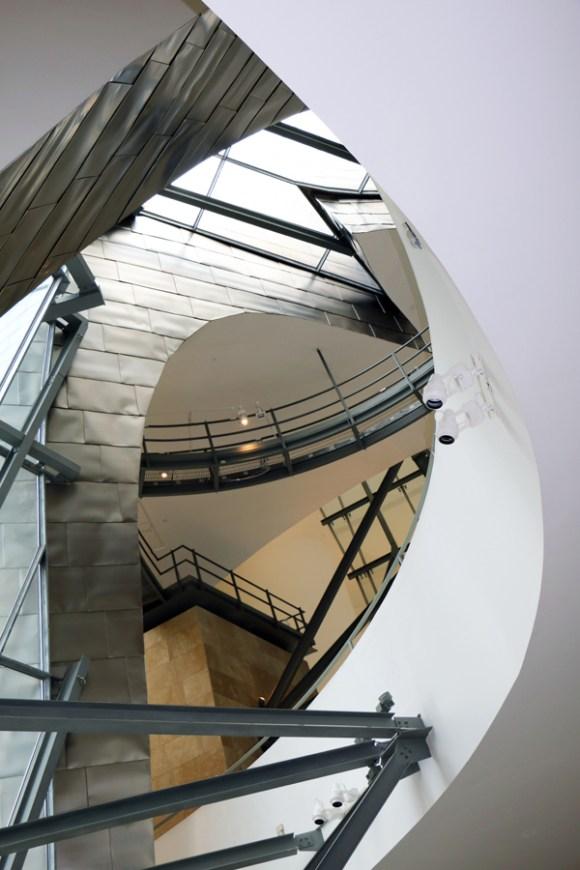 Guggenheim Bilbao Staircase © Lavender's Blue Stuart Blakley