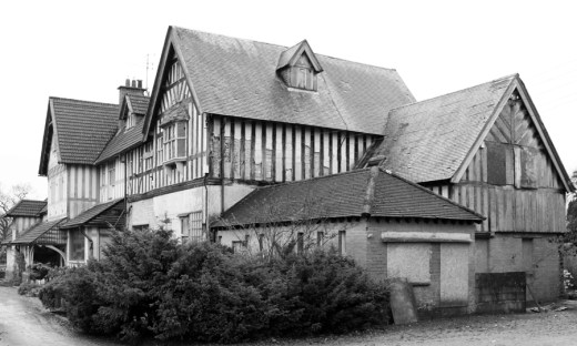 Sion House Side Elevation Sion Mills Tyrone © Lavender's Blue Stuart Blakley