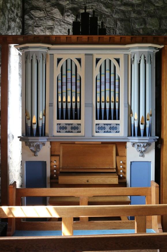 St Patrick's Church Saul Organ © Lavender's Blue Stuart Blakley