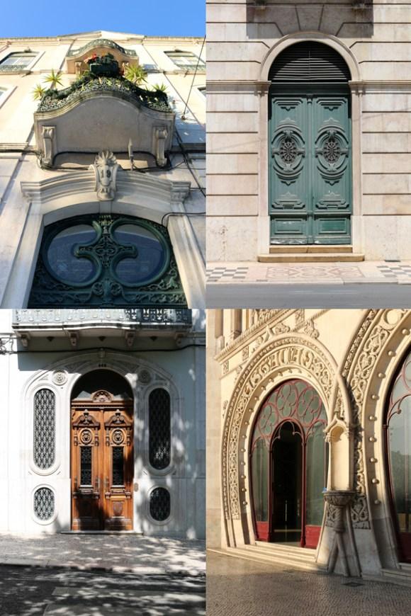 Lisbon Doors © Lavender's Blue Stuart Blakley