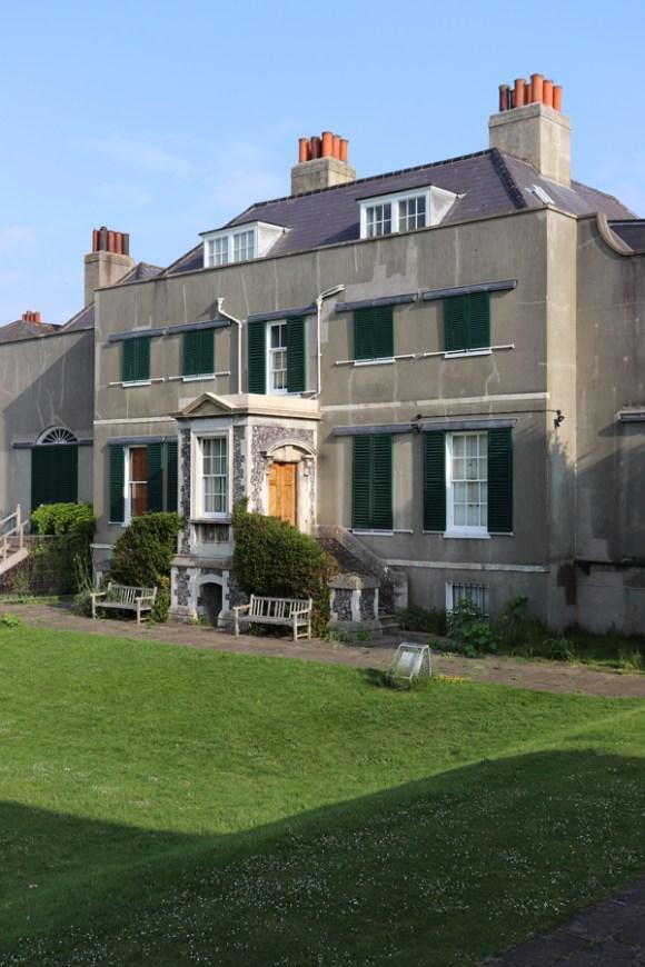 Preston Manor Brighton Rear © Lavender's Blue Stuart Blakley