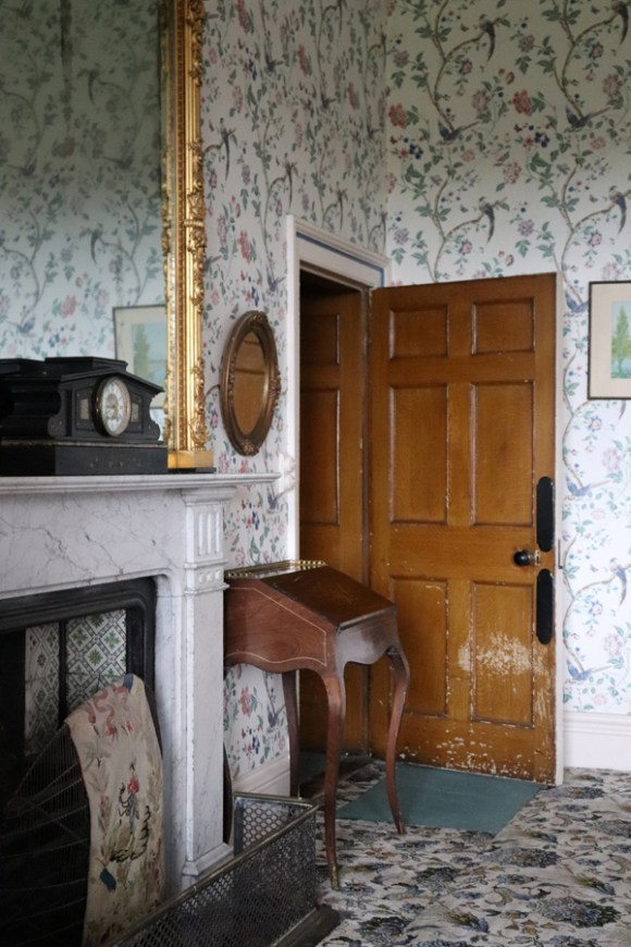 Annaghmore Sligo Bedroom Fireplace © Lavender's Blue Stuart Blakley
