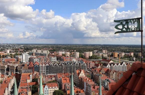 St Mary's Church Gdansk Rooftops © Lavender's Blue Stuart Blakley
