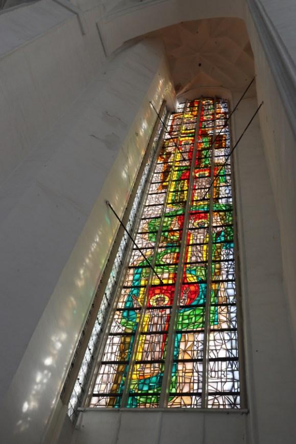 St Mary's Church Gdansk Stained Glass © Lavender's Blue Stuart Blakley