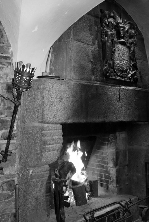 Belleek Castle Hotel Mayo Fireplace © Lavender's Blue Stuart Blakley