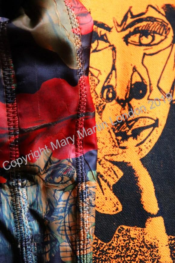 Mary Martin Men Screen Print © Lavender's Blue Stuart Blakley