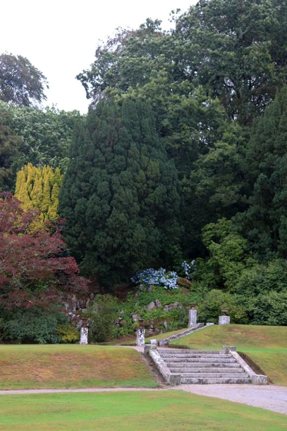 Pencarrow House and Garden Cornwall Terrace © Lavender's Blue Stuart Blakley