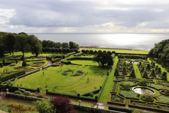 Dunrobin Castle Sutherland Garden © Lavender's Blue Stuart Blakley