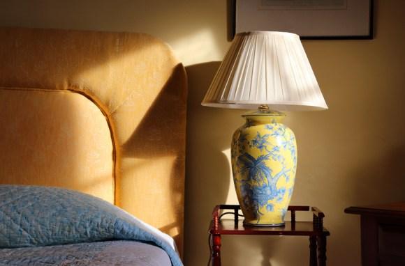 Forss House Hotel Thurso Bed © Lavender's Blue Stuart Blakley