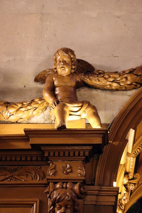 St Paul and St Louis Church Ceiling Le Marais Paris © Lavender's Blue Stuart Blakley