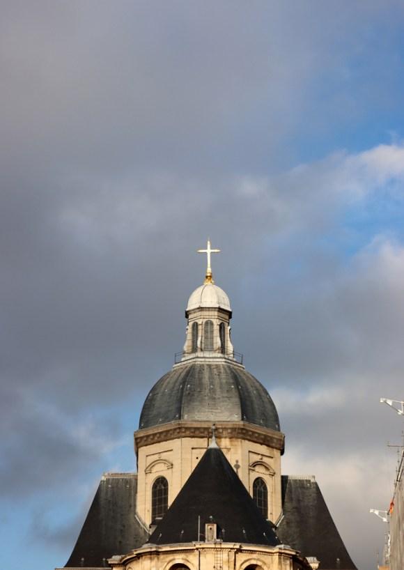 St Paul and St Louis Church Dome Le Marais Paris © Lavender's Blue Stuart Blakley