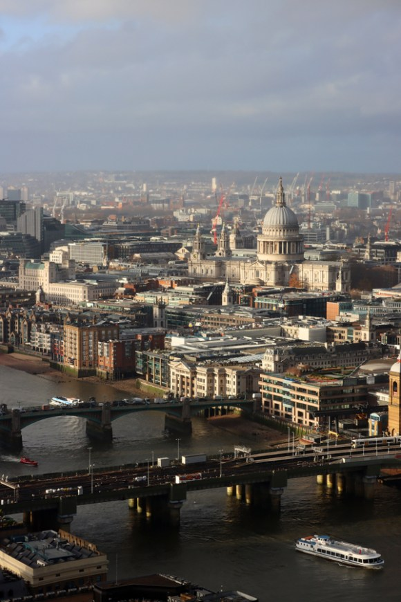 The Shard London View St Paul's Cathedral © Lavender's Blue Stuart Blakley