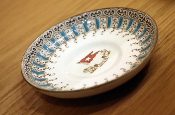 White Star Line Tableware Titanic Museum Belfast Northern Ireland © Lavender's Blue Stuart Blakley
