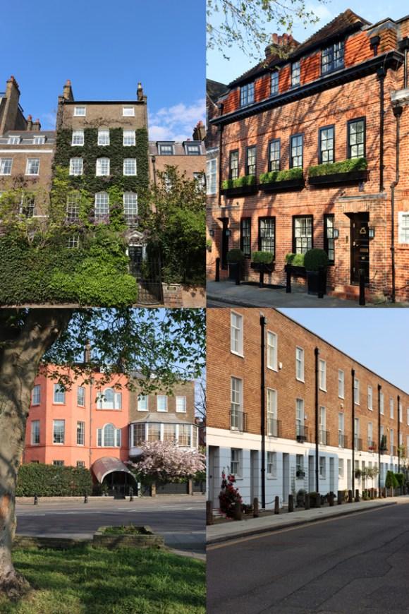 Chelsea and South Kensington Houses London © Lavender's Blue Stuart Blakley