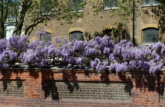 Church Wall Montevetro Battersea London © Lavender's Blue Stuart Blakley