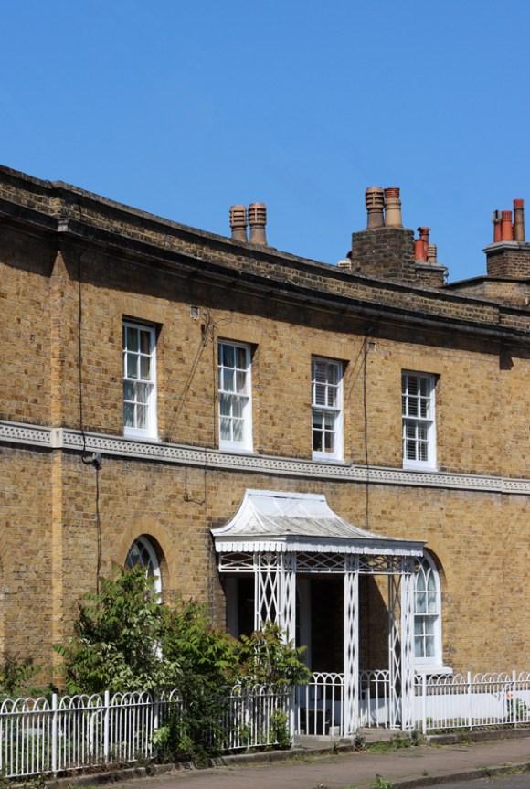 Courtenay Square Crescent Duchy of Cornwall Kennington Estate © Lavender's Blue Stuart Blakley