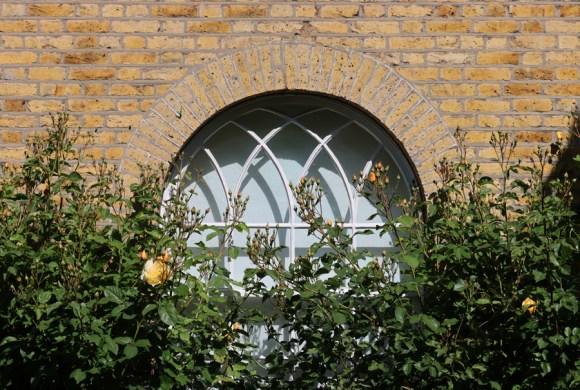 Courtenay Square Window Duchy of Cornwall Kennington Estate © Lavender's Blue Stuart Blakley