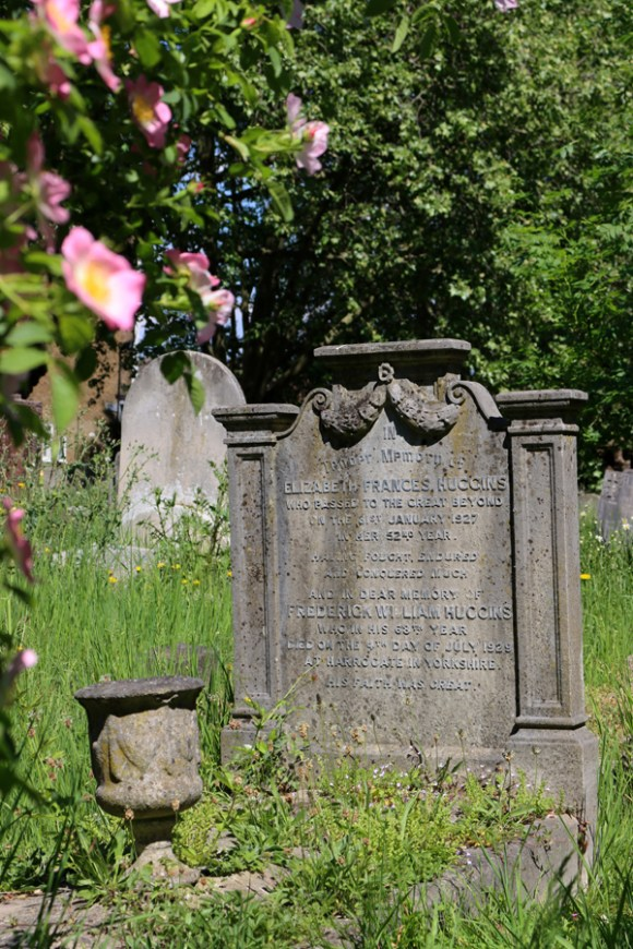 St Mary's Cemetery Battersea London Gravestone © Lavender's Blue Stuart Blakley