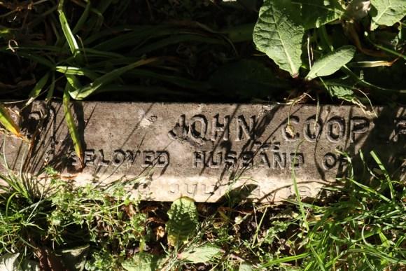 St Mary's Cemetery Battersea London Nameplate © Lavender's Blue Stuart Blakley