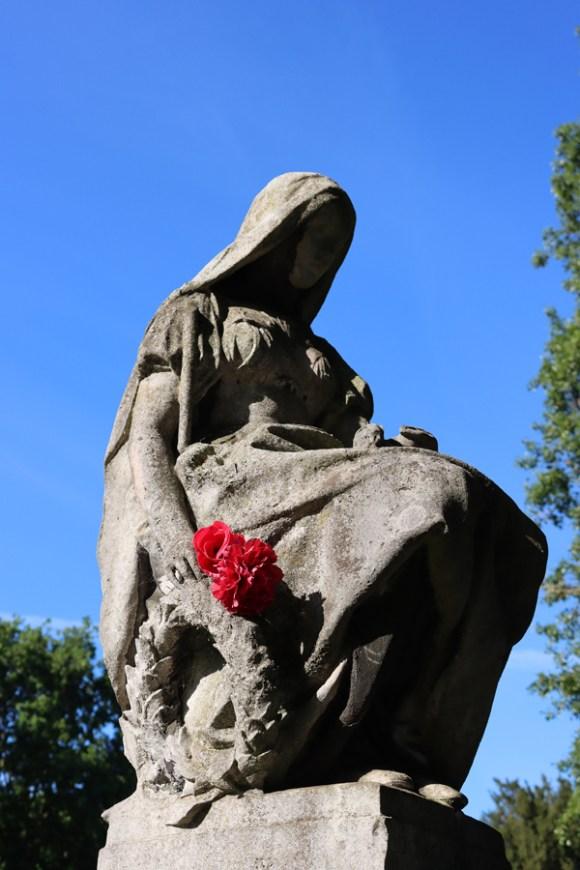 St Mary's Cemetery Battersea London Rose © Lavender's Blue Stuart Blakley