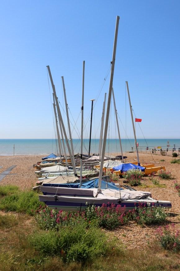 Boats Eastbourne East Sussex © Lavender's Blue Stuart Blakley